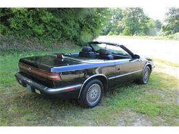 Picture of 1990 Chrysler TC by Maserati located in Washington Offered by Lucky Collector Car Auctions - QQBD