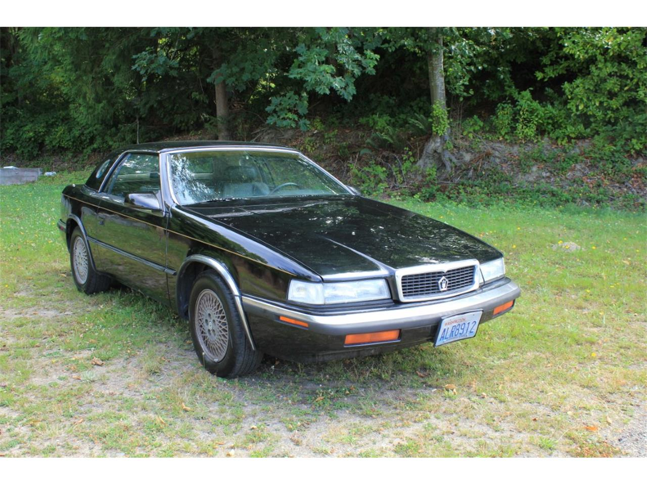 Large Picture of '90 Chrysler TC by Maserati Auction Vehicle Offered by Lucky Collector Car Auctions - QQBD