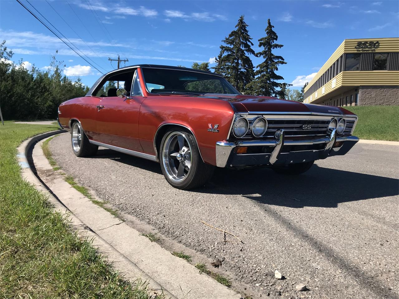 Large Picture of 1967 Chevrolet Chevelle located in Alberta Offered by Muscle Car Trader - QQCT