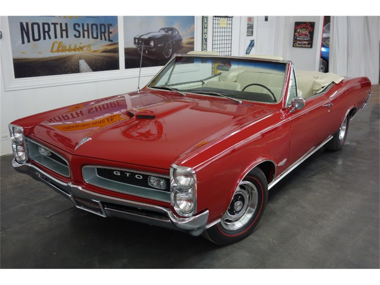 Large Picture of '66 Pontiac GTO located in Mundelein Illinois Offered by North Shore Classics - QQEA