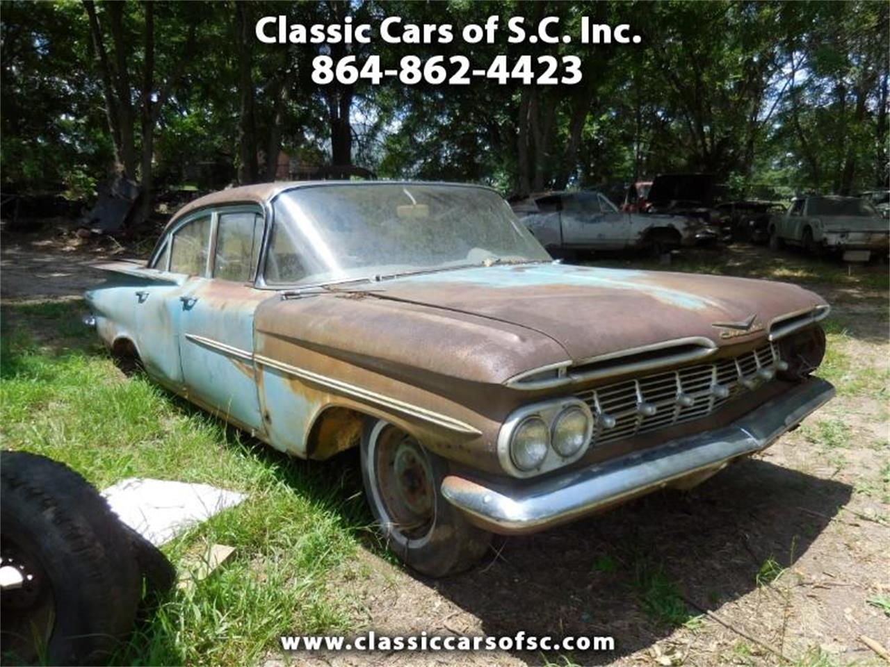 Large Picture of '59 Biscayne located in South Carolina - QQEM