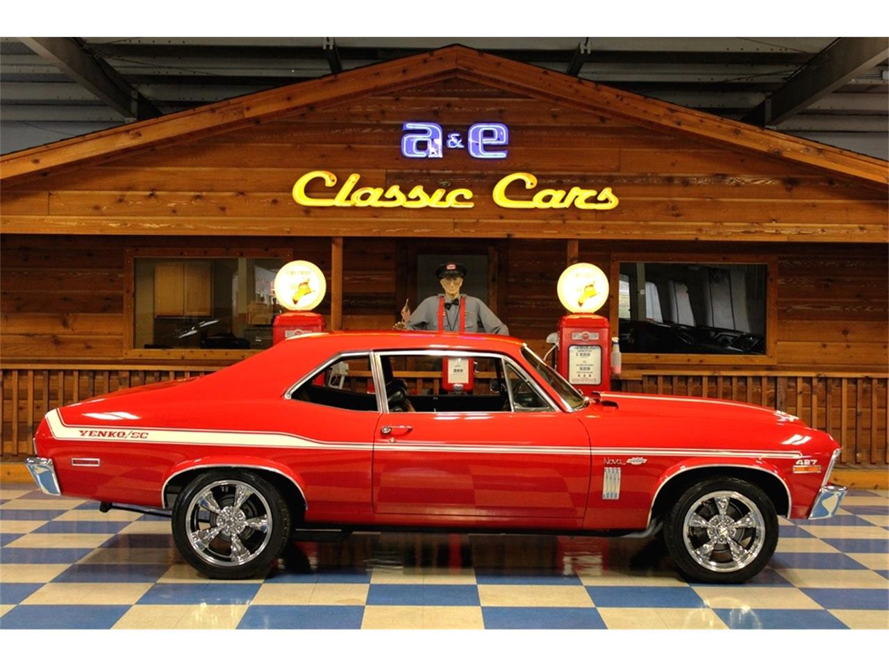 Large Picture of Classic 1970 Nova located in New Braunfels  Texas - $36,900.00 Offered by A&E Classic Cars - QQJ3