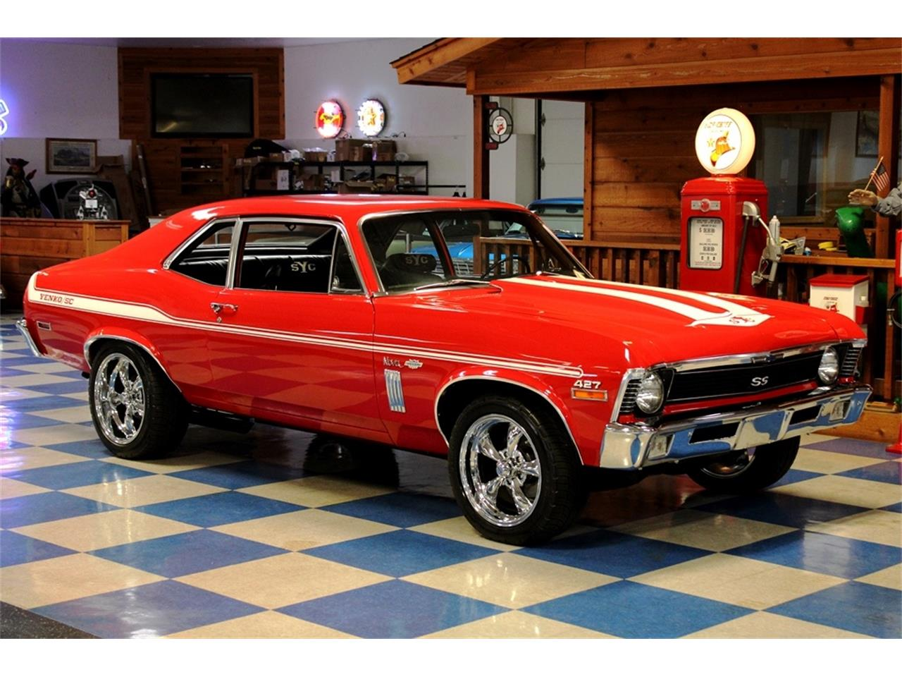 Large Picture of 1970 Nova located in New Braunfels  Texas - $36,900.00 Offered by A&E Classic Cars - QQJ3