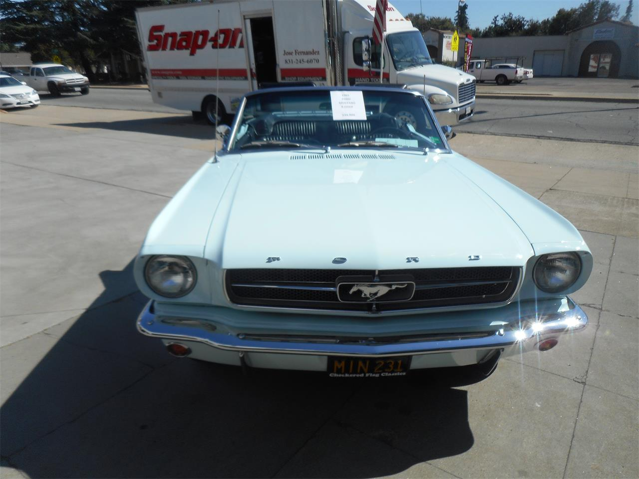 Large Picture of '65 Ford Mustang - $34,900.00 Offered by Checkered Flag Classic Inc. - QQJO