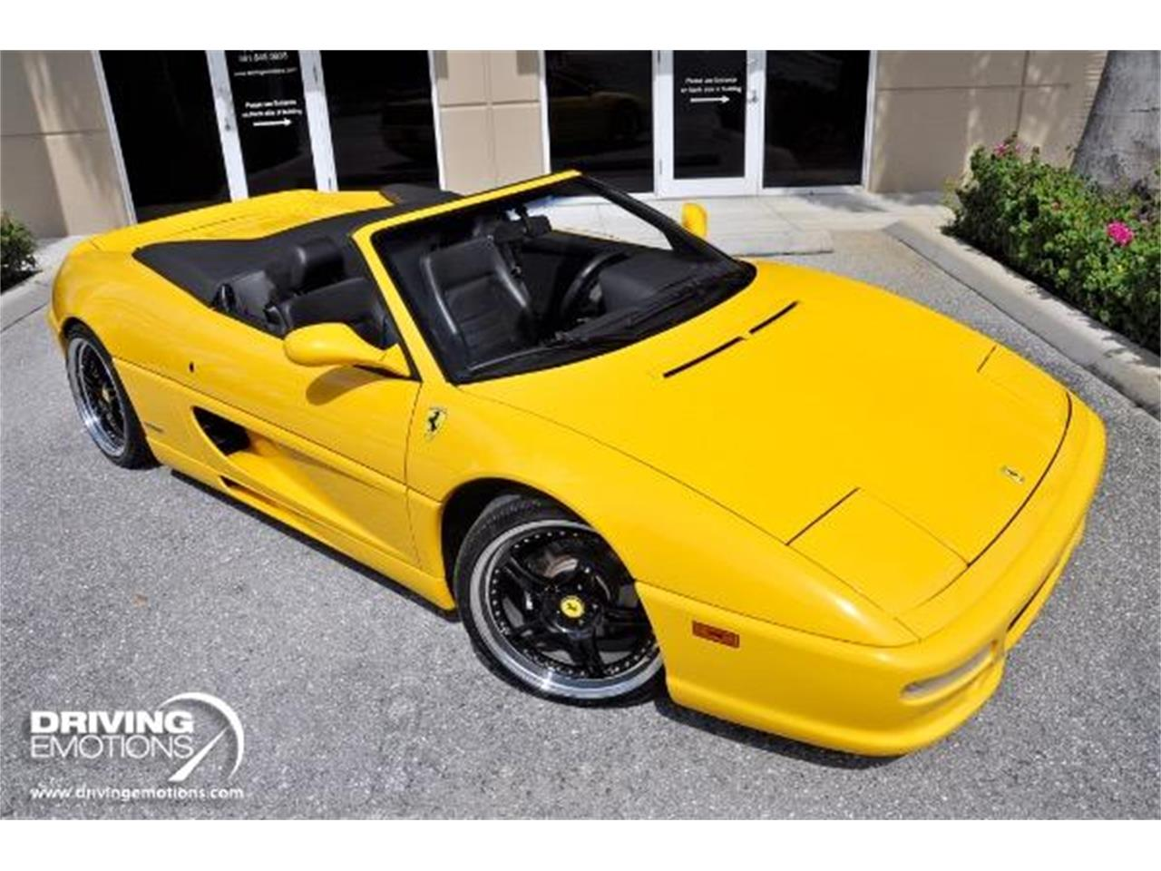 Large Picture of '98 Ferrari F355 Spider Offered by Driving Emotions, LLC - QQM3