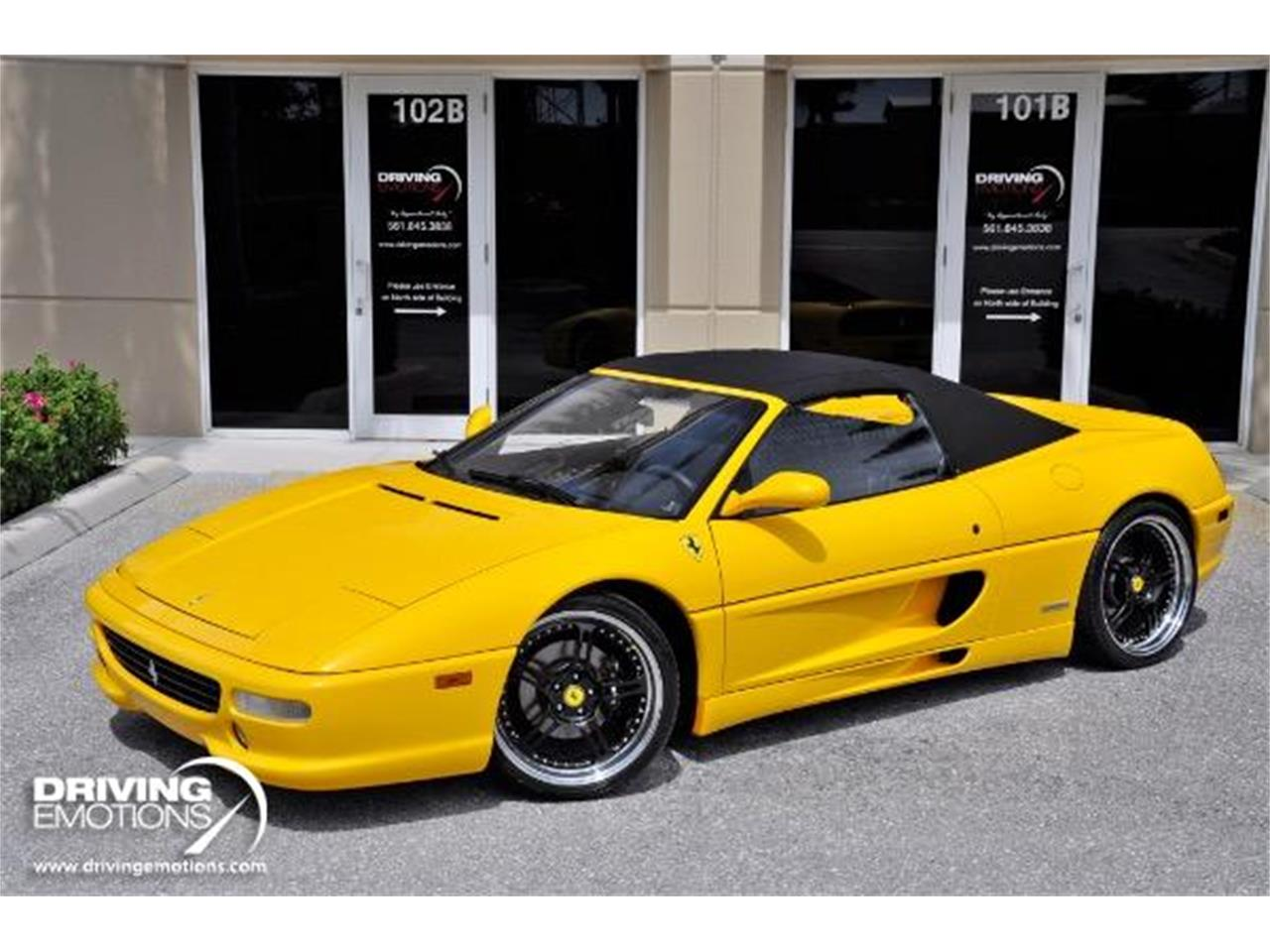 Large Picture of '98 Ferrari F355 Spider located in Florida - $89,900.00 Offered by Driving Emotions, LLC - QQM3