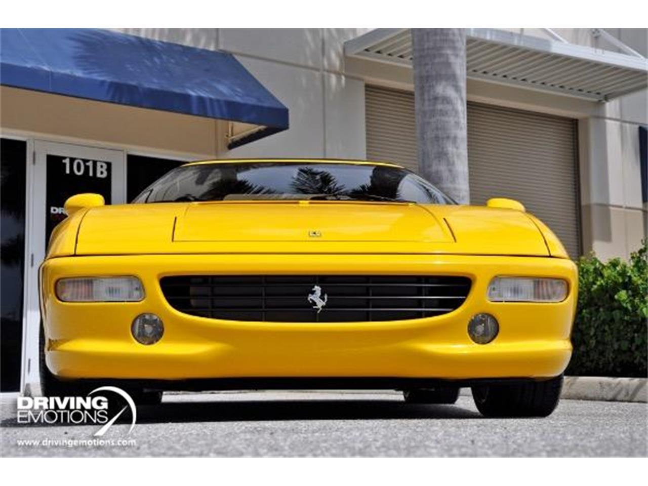Large Picture of 1998 Ferrari F355 Spider located in West Palm Beach Florida Offered by Driving Emotions, LLC - QQM3
