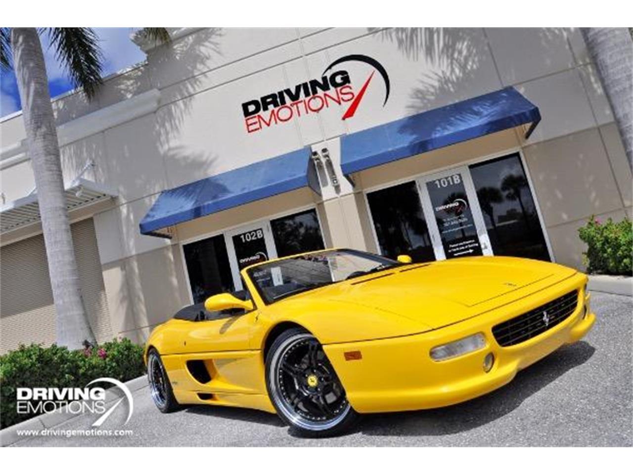 Large Picture of '98 Ferrari F355 Spider located in West Palm Beach Florida - QQM3