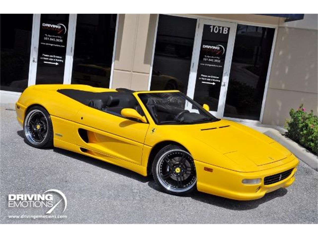 Large Picture of 1998 F355 Spider located in Florida Offered by Driving Emotions, LLC - QQM3