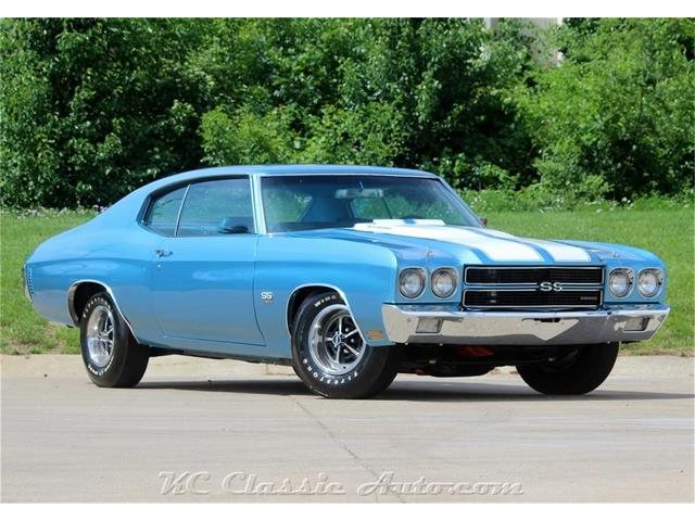 Picture of 1970 Chevrolet Chevelle SS located in Kansas - $59,900.00 Offered by  - QQVY