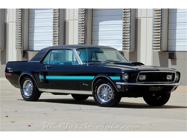 1968 Ford Mustang GT/CS (California Special)
