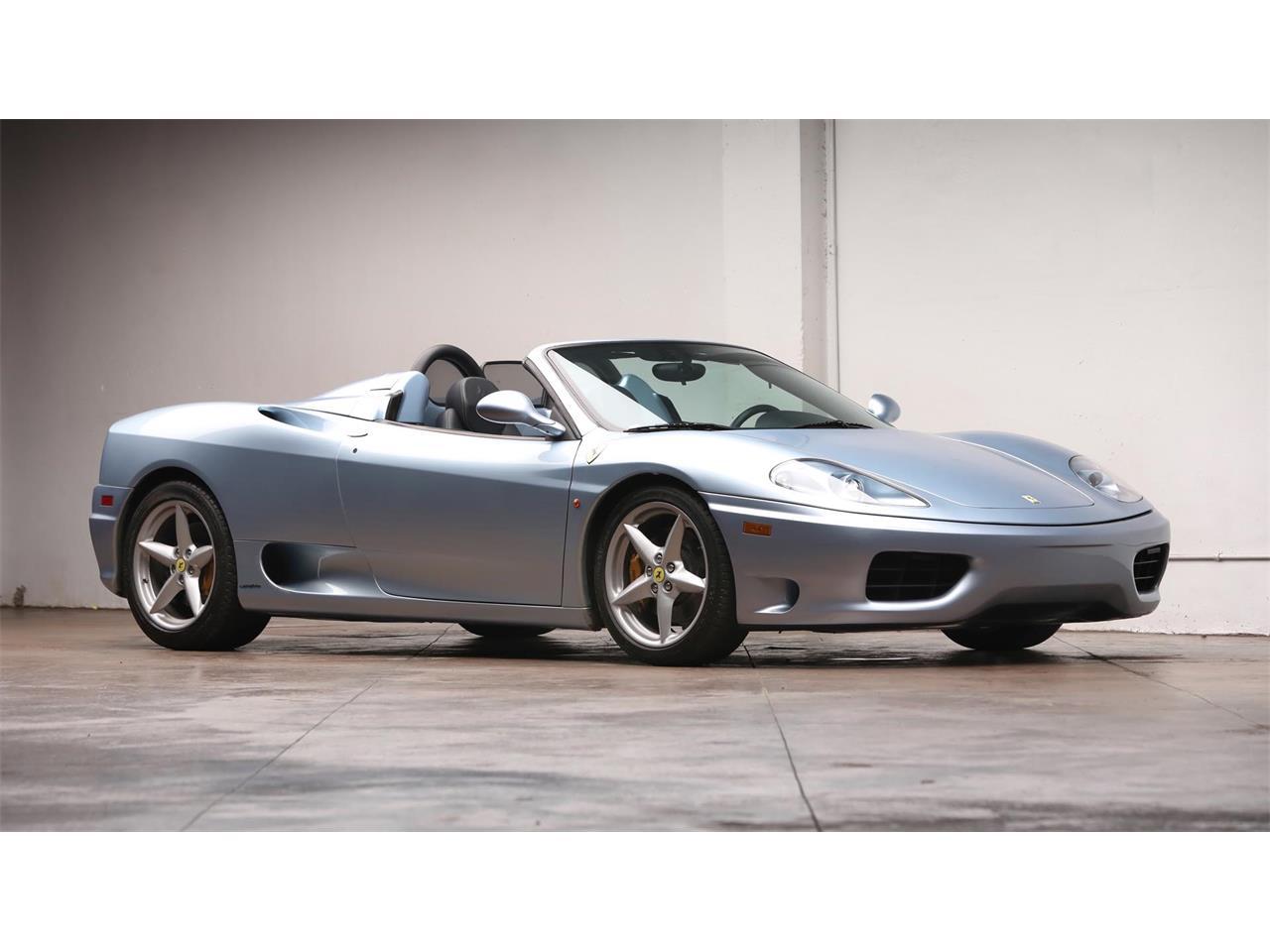 Large Picture of 2002 Ferrari 360 Spider Auction Vehicle - QR9W