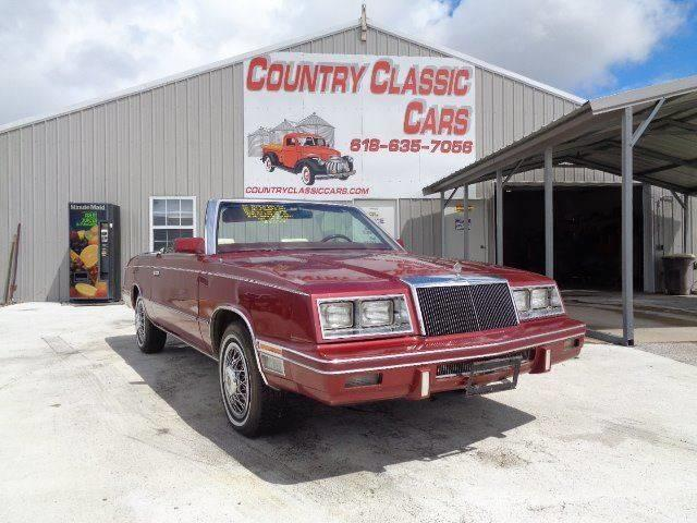 Picture of '84 LeBaron - QRDL