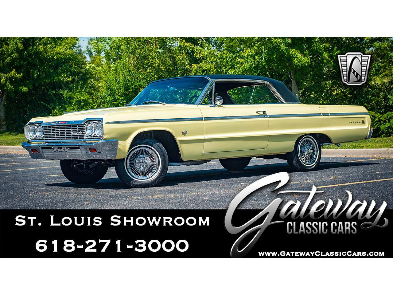 Large Picture of '64 Impala located in Illinois - $45,000.00 Offered by Gateway Classic Cars - St. Louis - QRDR
