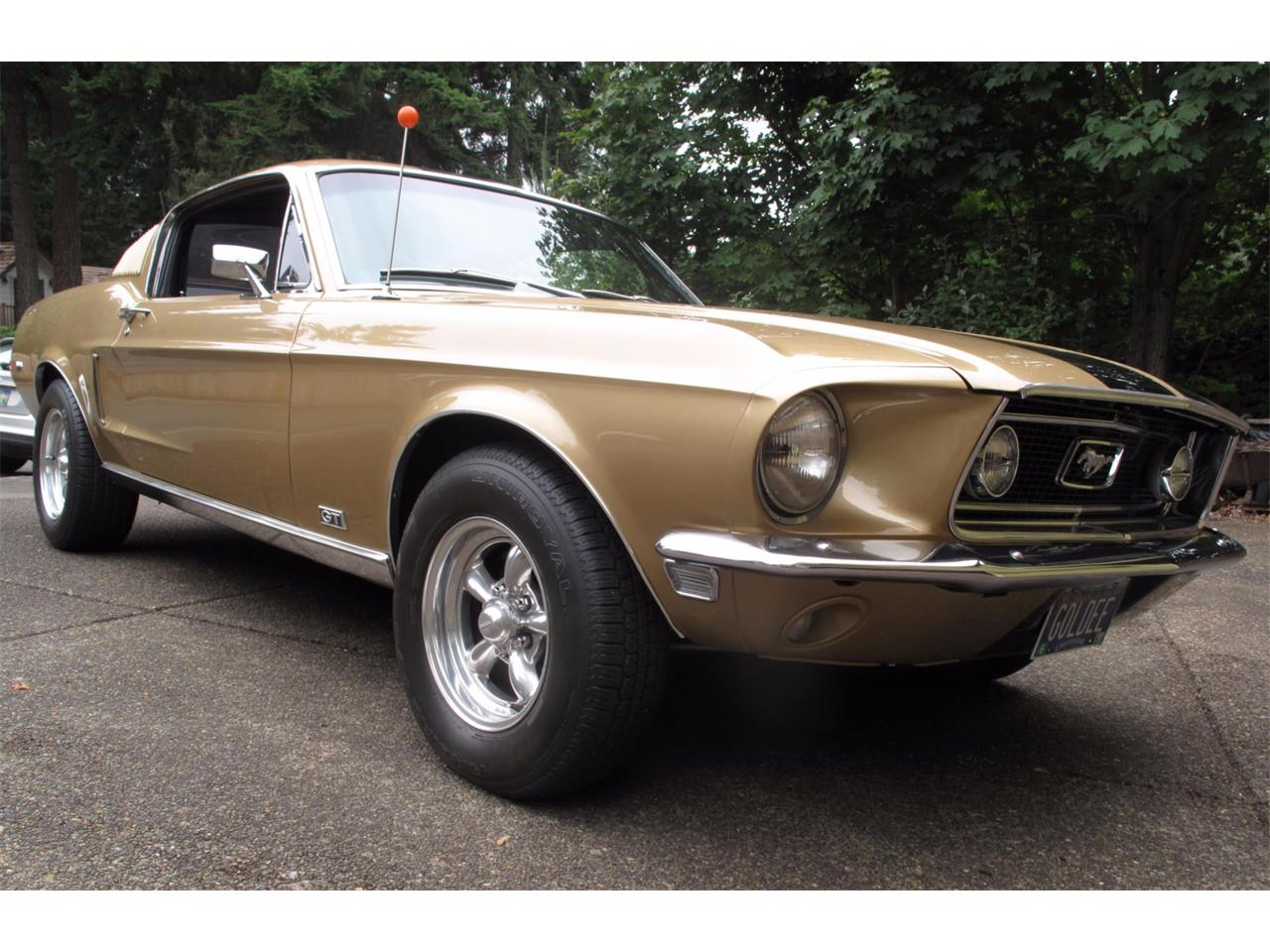 Large Picture of '68 Ford Mustang located in Oregon Auction Vehicle - QRE2