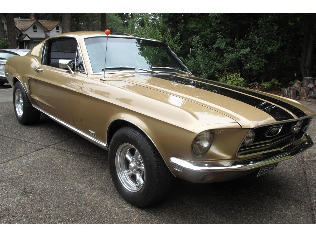 Large Picture of Classic 1968 Ford Mustang Auction Vehicle - QRE2