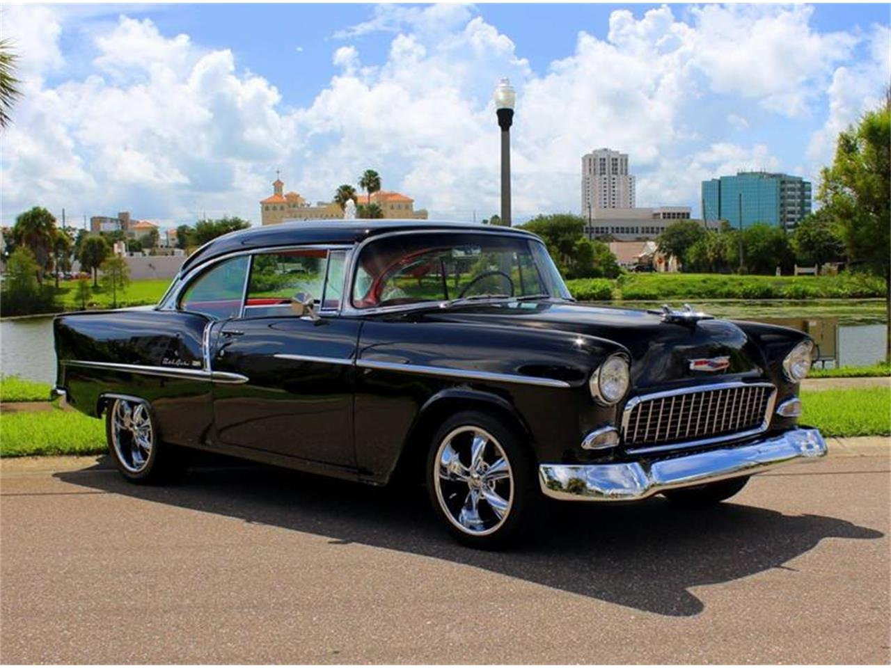 Large Picture of Classic '55 Bel Air located in Clearwater Florida - $59,900.00 Offered by PJ's Auto World - QRFG