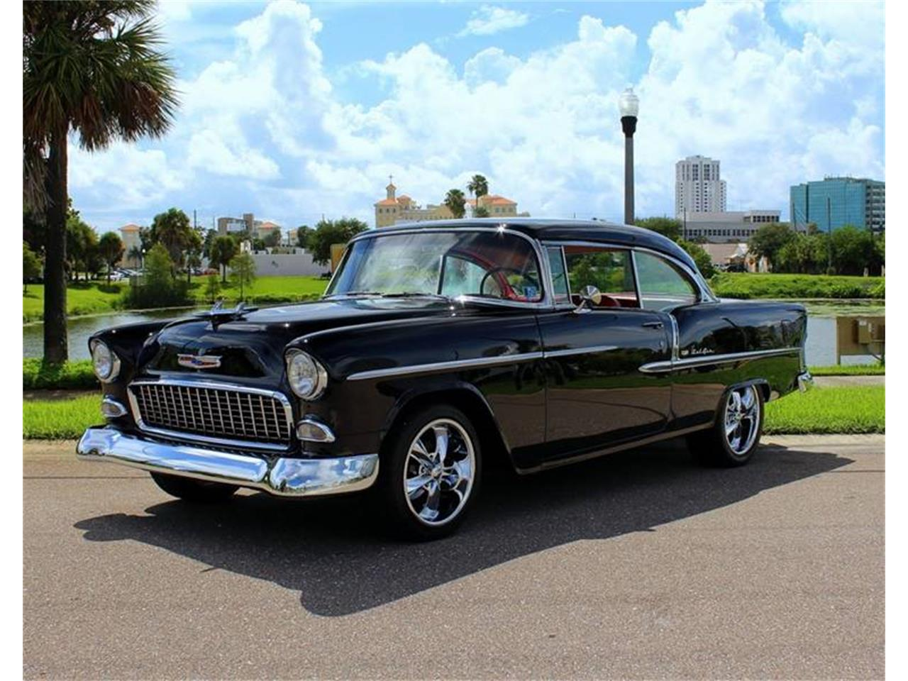 Large Picture of Classic '55 Chevrolet Bel Air located in Florida - $59,900.00 Offered by PJ's Auto World - QRFG