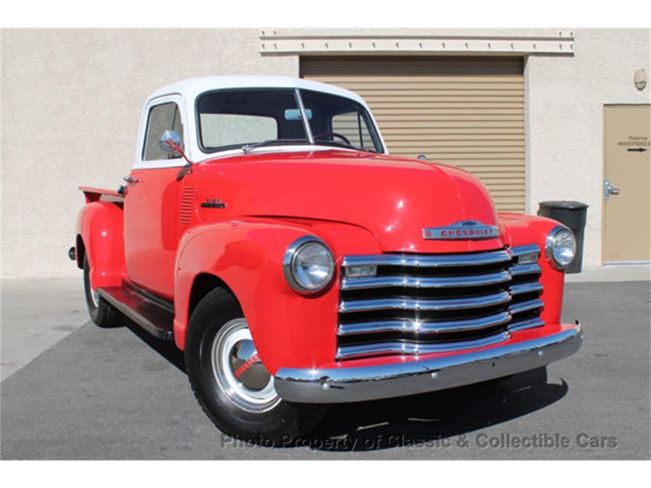 Chevrolet Las Vegas >> For Sale 1953 Chevrolet 3100 In Las Vegas Nevada
