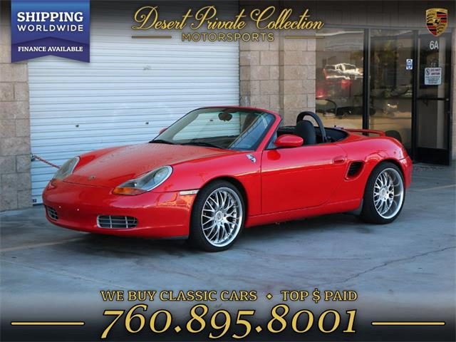Picture of 2001 Boxster located in Palm Desert  California - QRM5
