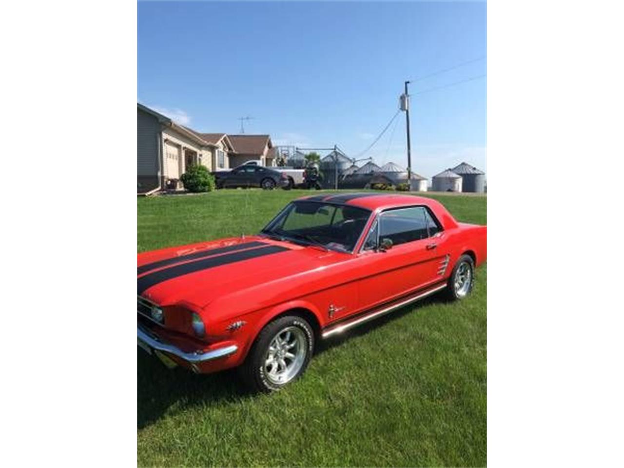 Large Picture of '66 Mustang - QRO8