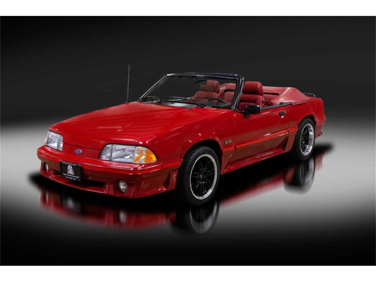 Large Picture of '88 Mustang - QRTK