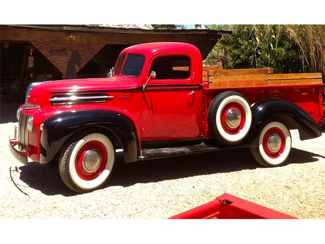 Picture of Classic 1947 Ford 1-1/2 Ton Pickup located in California - $27,000.00 Offered by a Private Seller - QRUB