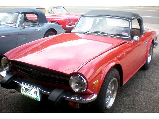 Picture of 1976 Triumph TR6 located in New Hampshire Offered by  - QRZD