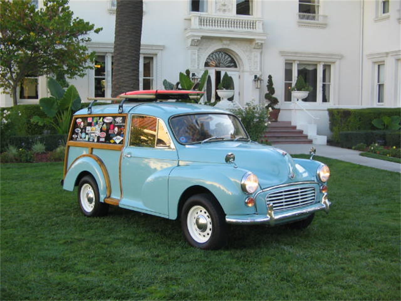 Large Picture of '67 Minor Traveler Woodie - QS05