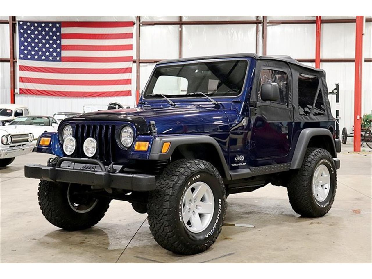 Large Picture of 2005 Wrangler located in Kentwood Michigan - QS1I
