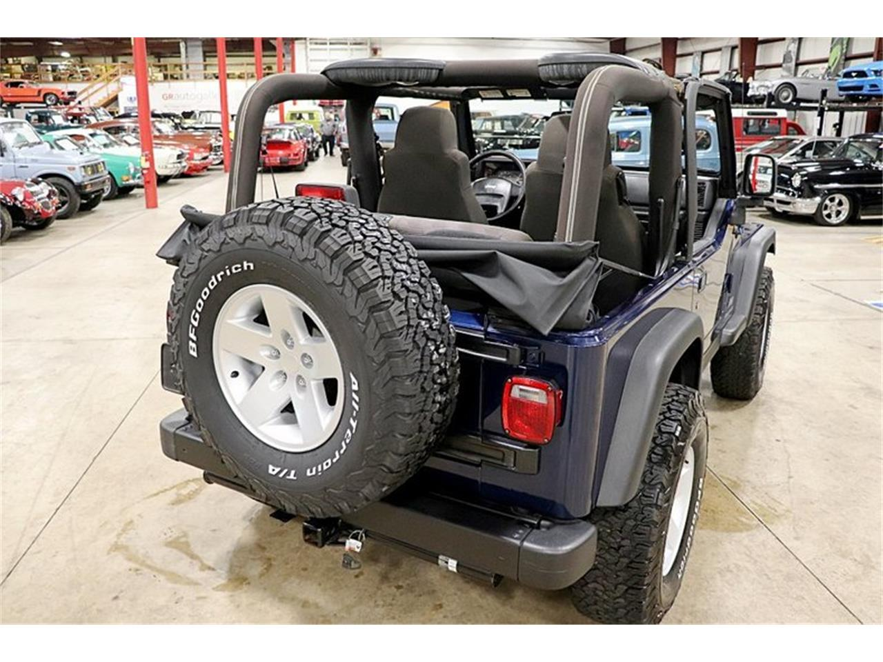 Large Picture of 2005 Jeep Wrangler located in Michigan - $17,900.00 - QS1I