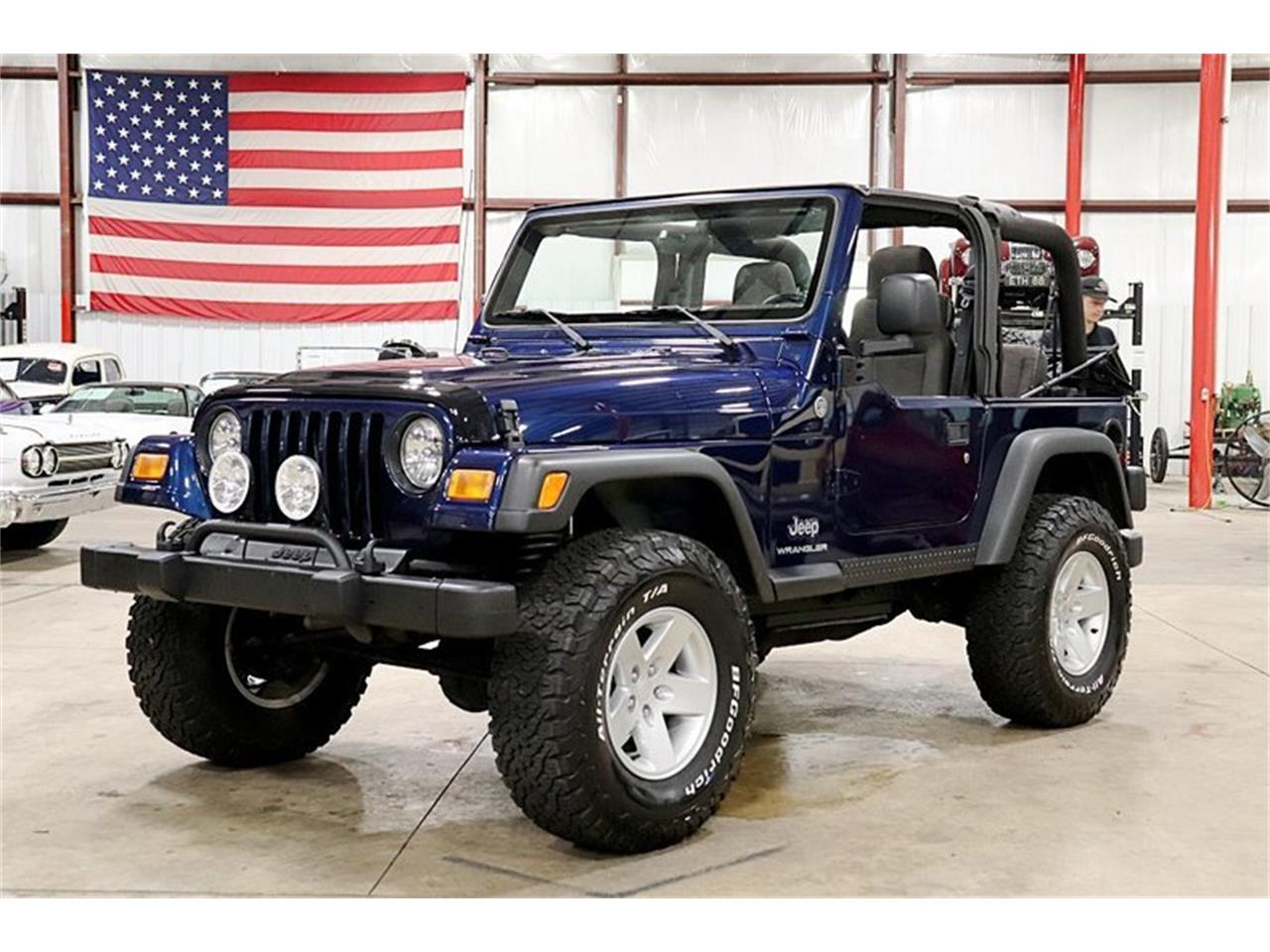 Large Picture of 2005 Wrangler located in Kentwood Michigan Offered by GR Auto Gallery - QS1I