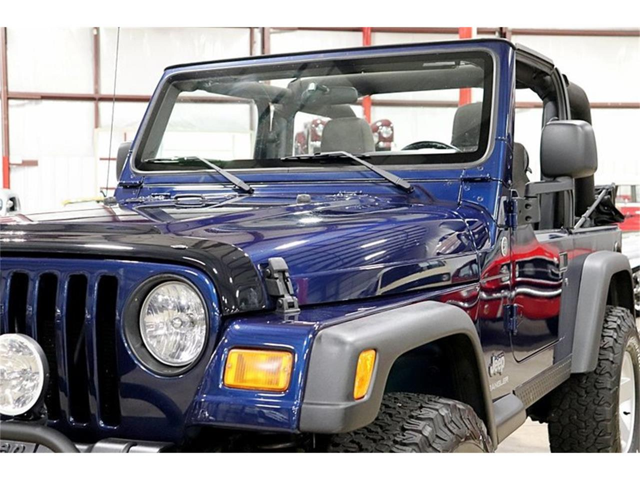 Large Picture of '05 Jeep Wrangler located in Michigan - QS1I