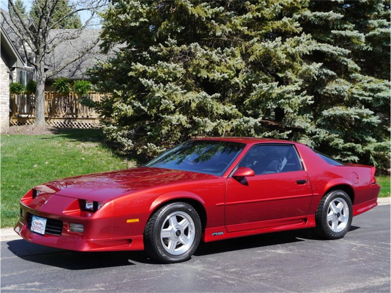 Large Picture of '91 Camaro - QS2U