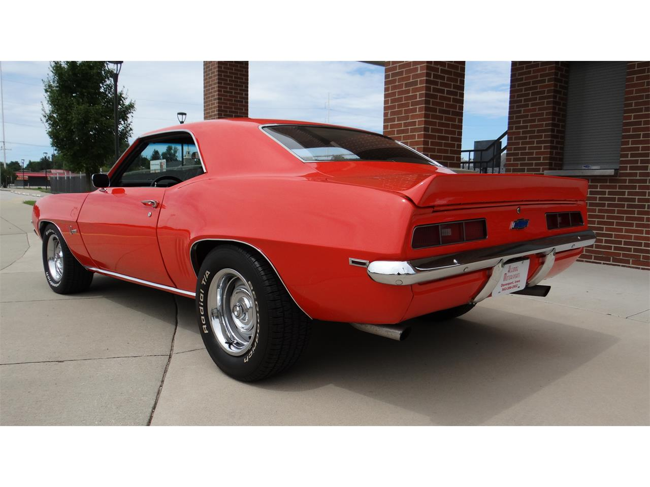 Large Picture of '69 Camaro - QSCW