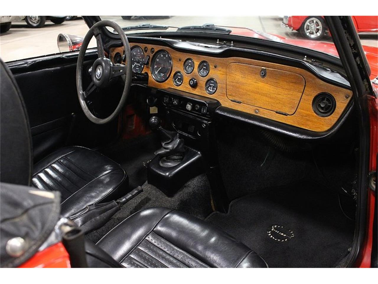 Large Picture of '72 TR6 - QSDU