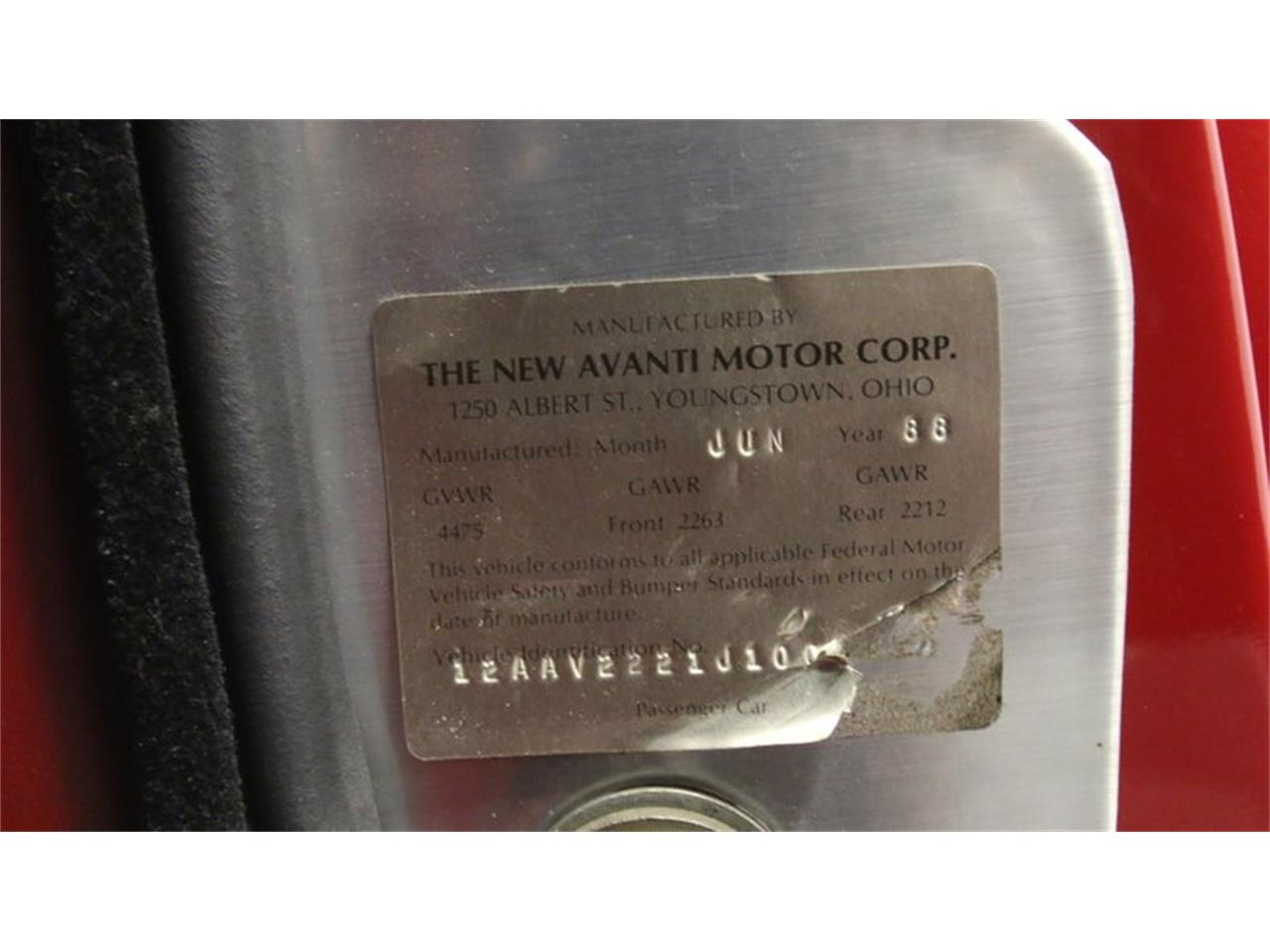 Large Picture of '88 Avanti II - QSEB