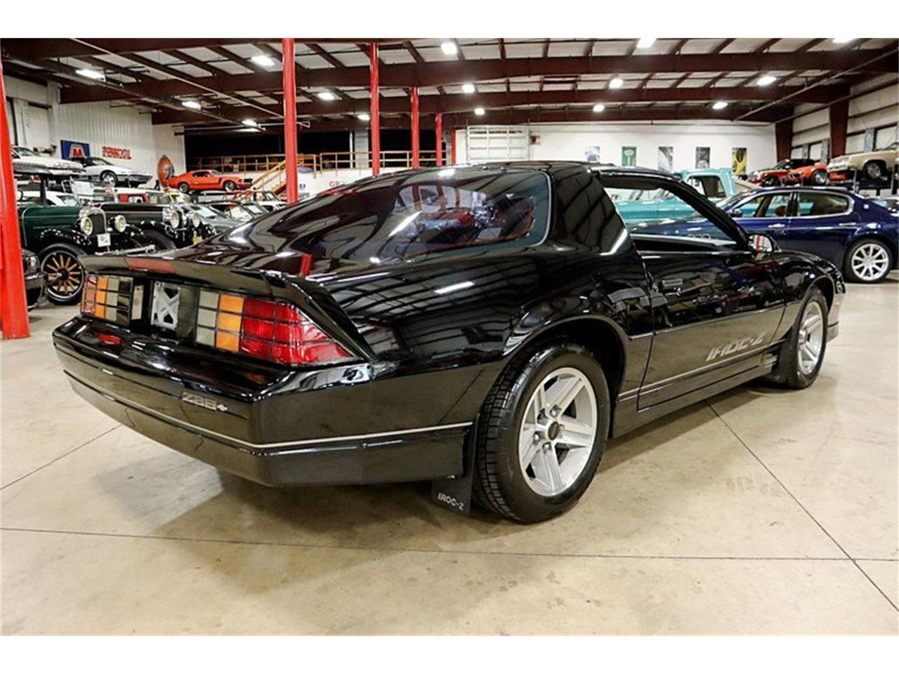 Large Picture of '87 Chevrolet Camaro Z28 - QSF0