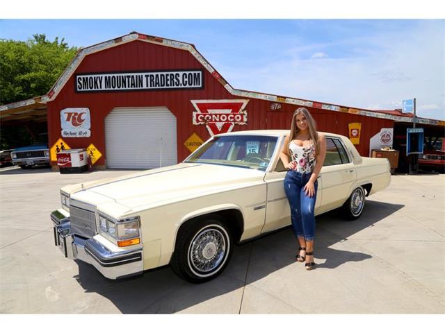 1983 Cadillac Sedan