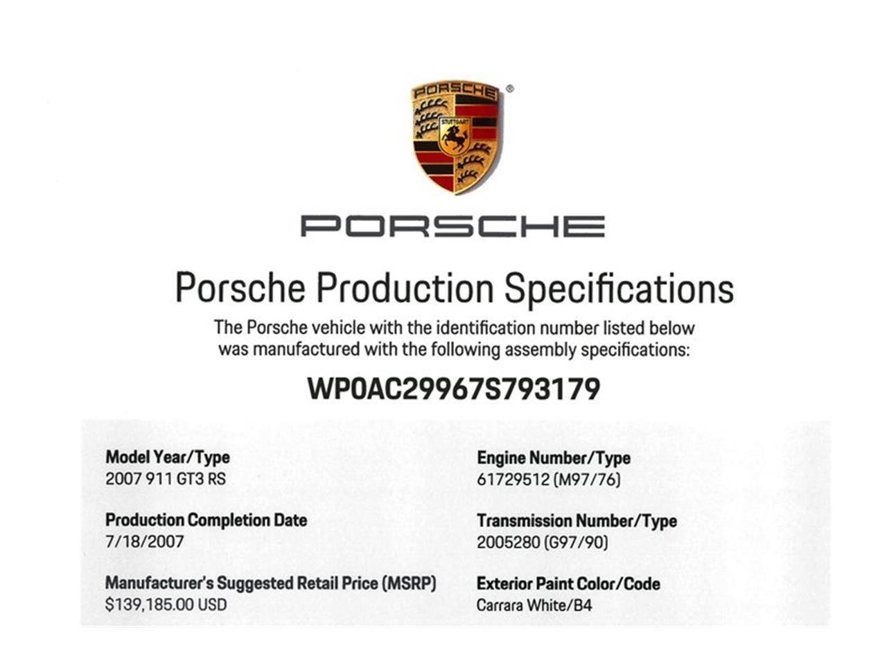 Large Picture of 2007 Porsche 911 Auction Vehicle - QTBQ