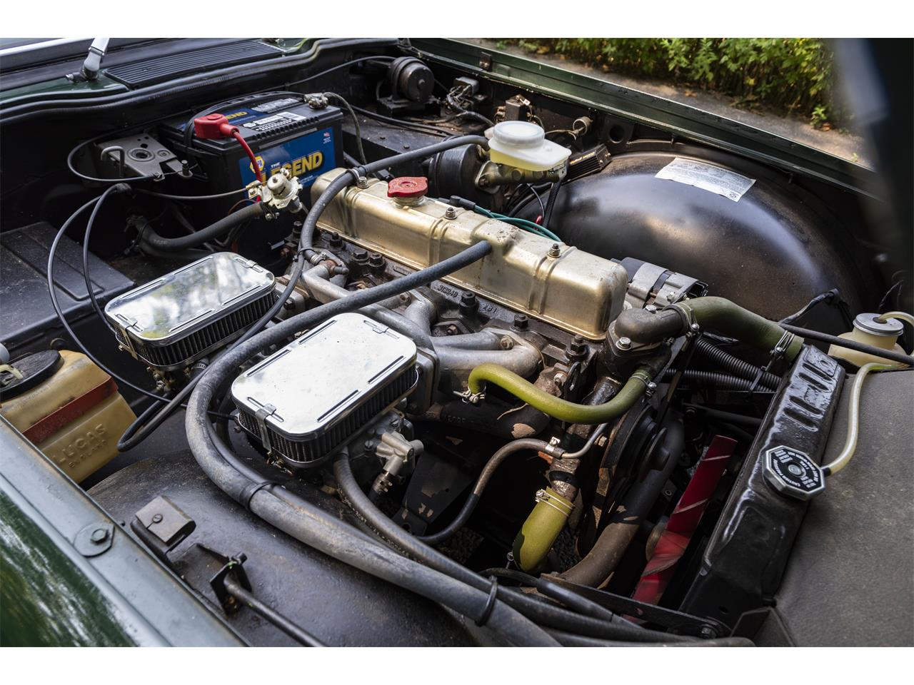 Large Picture of '74 TR6 - QTJX
