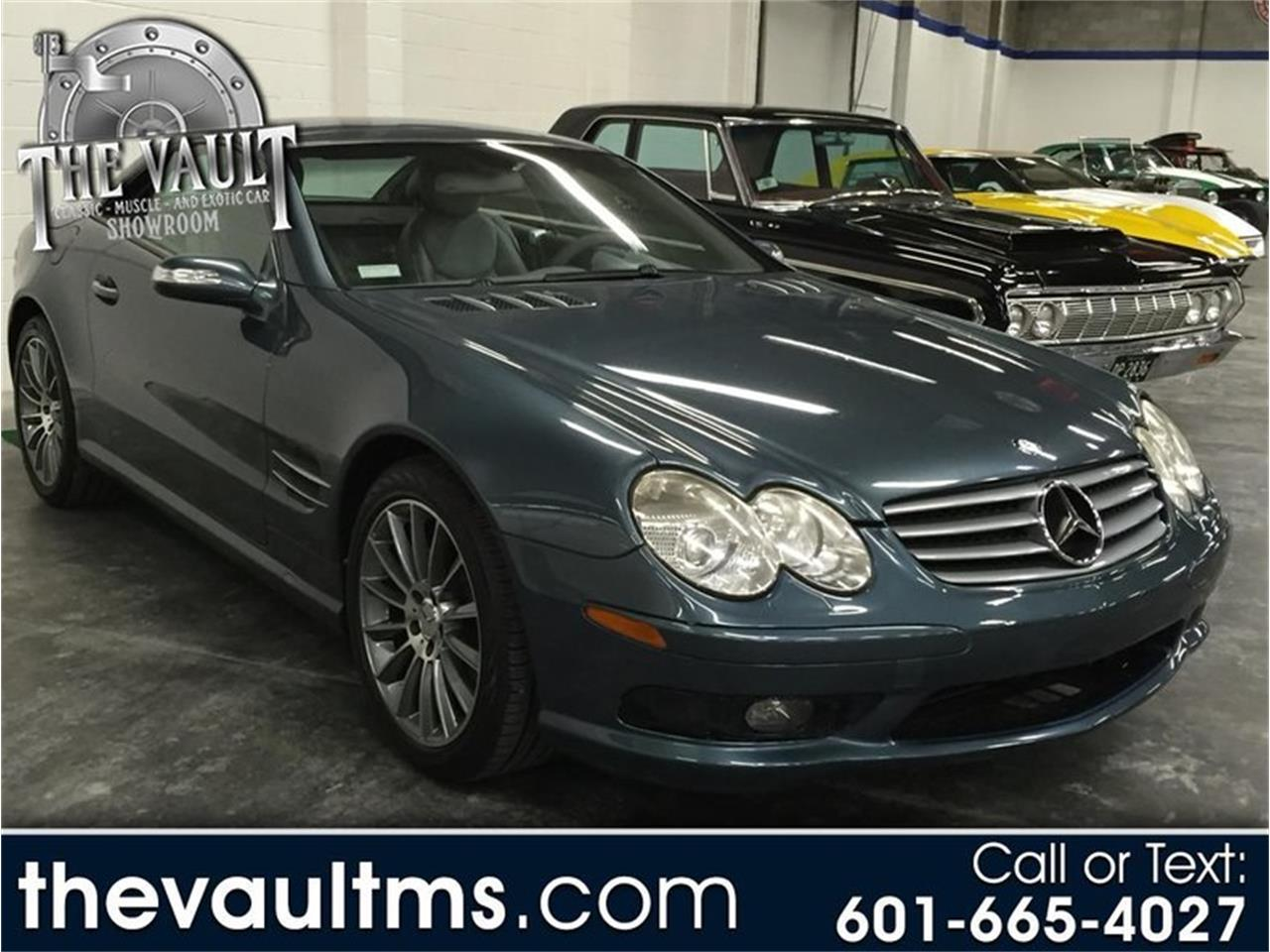 Large Picture of 2004 Mercedes-Benz SL-Class Offered by Auction Assets Group - QTQQ