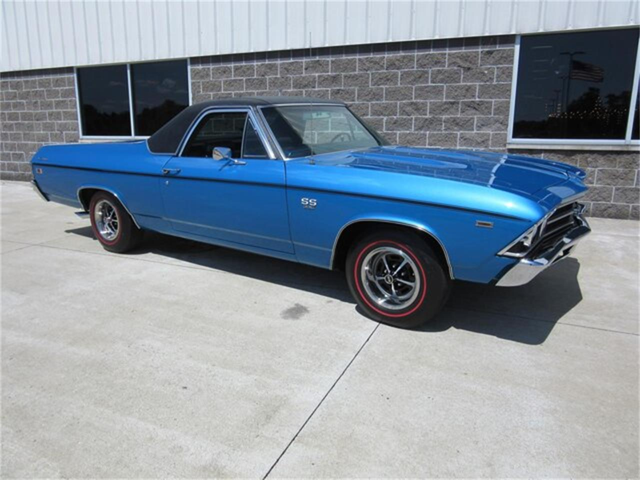 Large Picture of '69 El Camino located in Greenwood Indiana - $38,500.00 Offered by Ray Skillman Classic Cars - QTRB