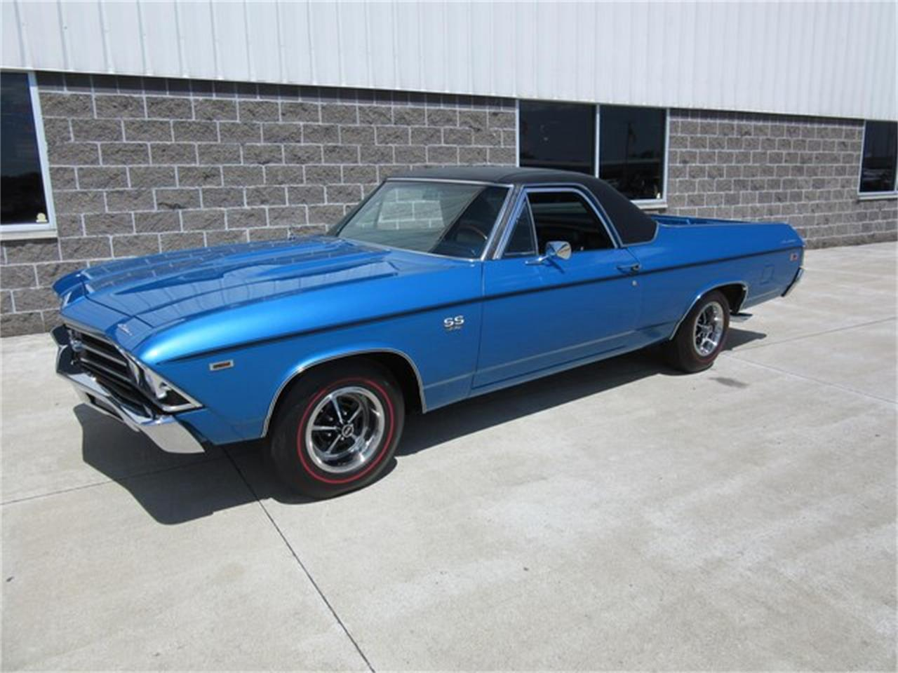 Large Picture of Classic 1969 El Camino located in Indiana Offered by Ray Skillman Classic Cars - QTRB