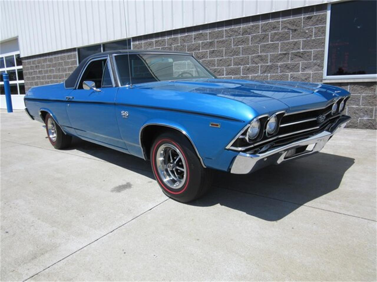 Large Picture of 1969 El Camino located in Greenwood Indiana Offered by Ray Skillman Classic Cars - QTRB