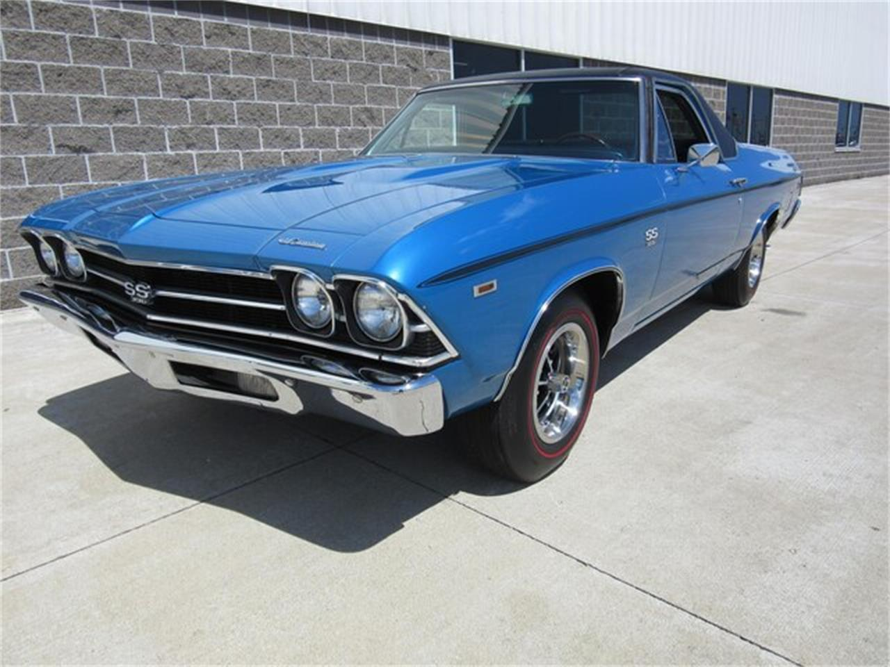 Large Picture of Classic 1969 Chevrolet El Camino located in Indiana - $38,500.00 Offered by Ray Skillman Classic Cars - QTRB