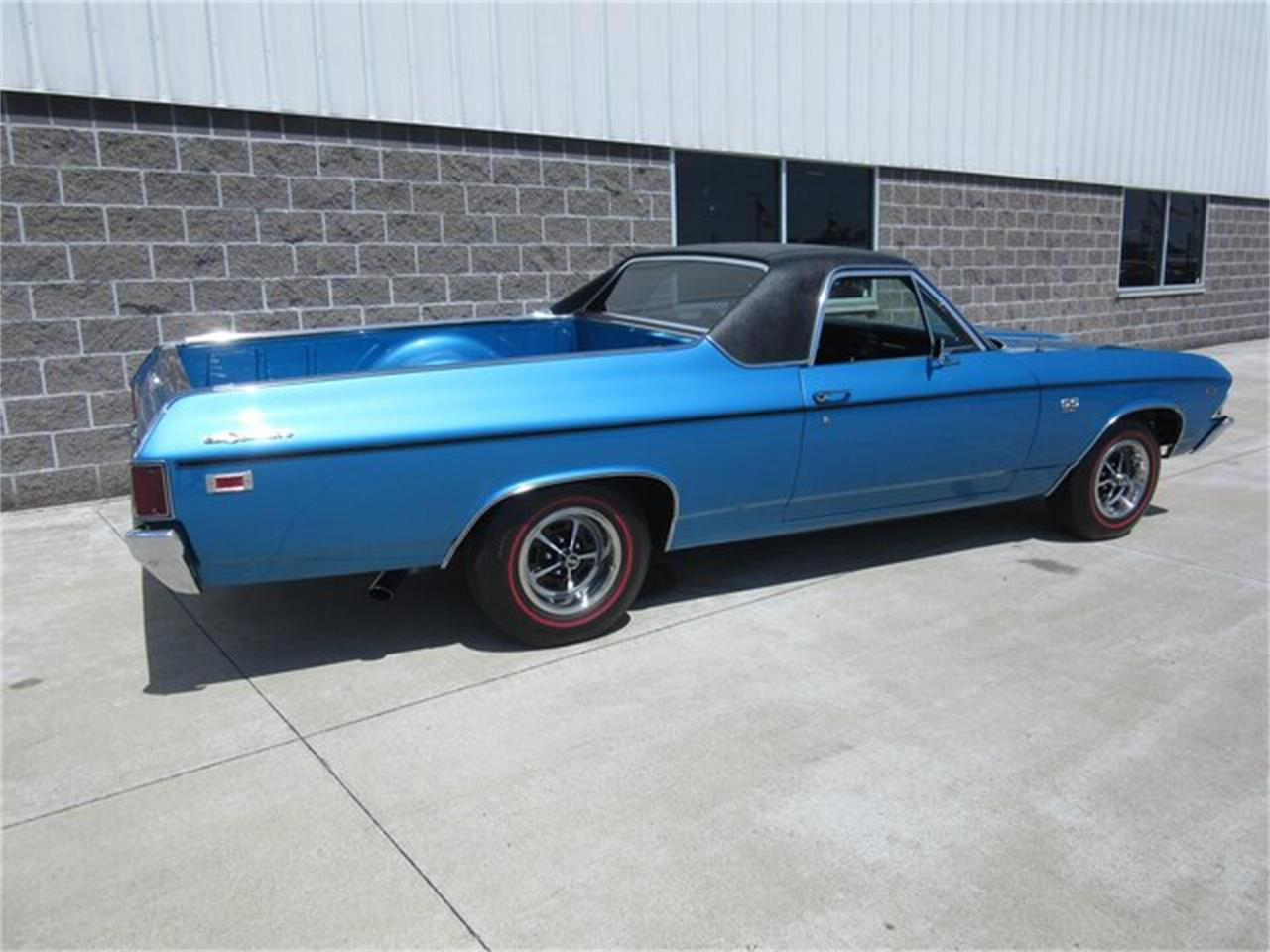 Large Picture of Classic 1969 Chevrolet El Camino located in Indiana Offered by Ray Skillman Classic Cars - QTRB
