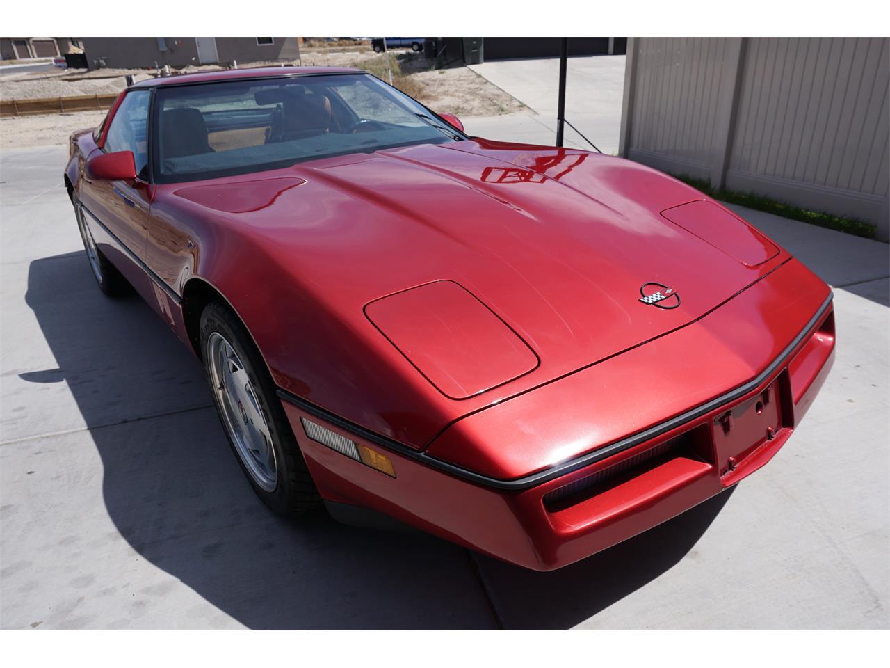 Large Picture of 1989 Chevrolet Corvette C4 located in Grand Junction Colorado - QTU6