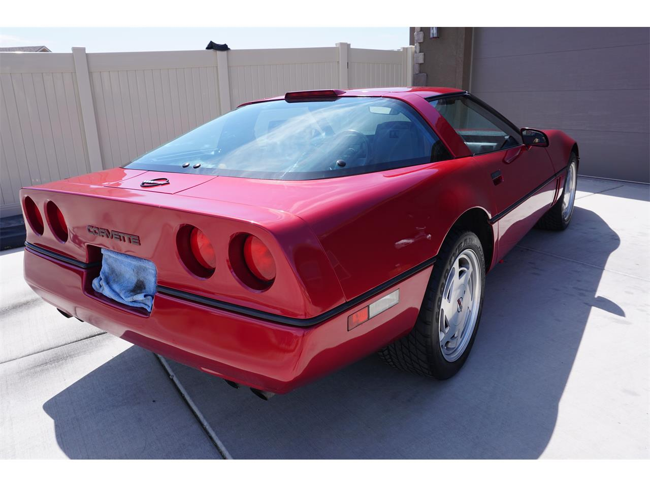 Large Picture of 1989 Chevrolet Corvette C4 - QTU6