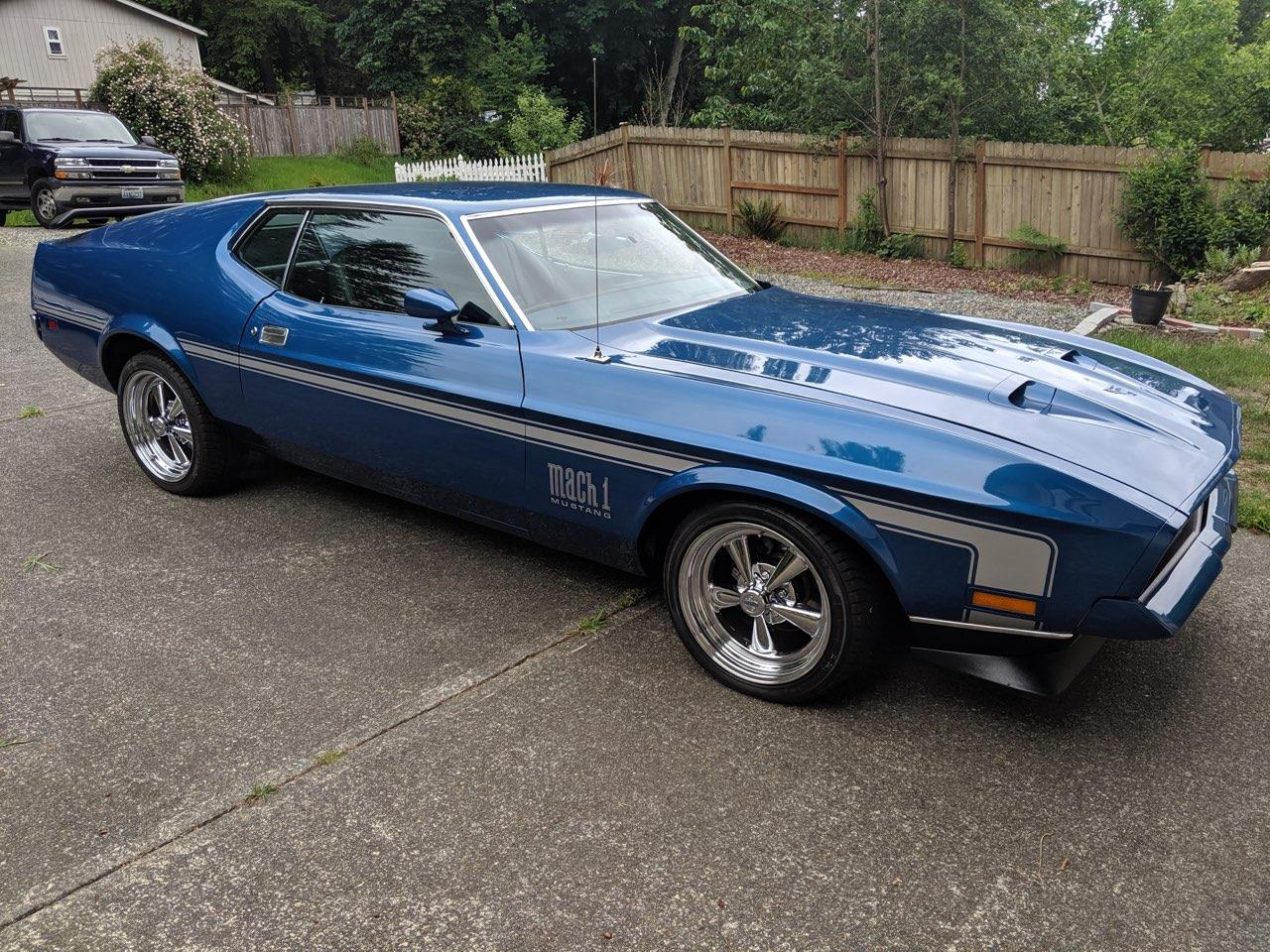 Large Picture of '72 Mustang Mach 1 - QU0L